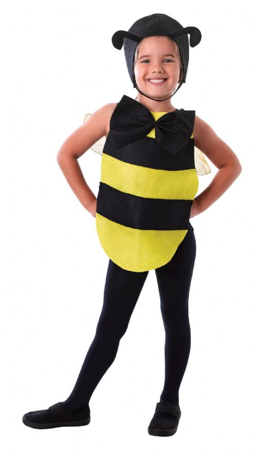Bumble Bee Dress-Up-Kit Fancy Dress-Up-Kit Wasp Insect Bee Fancy Dress Outfit